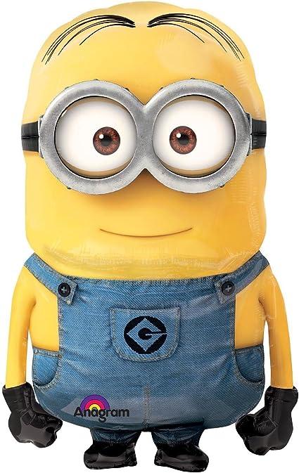 Amazon.com: Gigante, diseño de Minions Minion globo ...