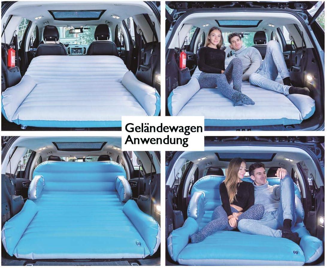 Auto Luftmatratzen Luftbett Aufblasbare Matratze Für 2 personen mit Pumpe Reisen