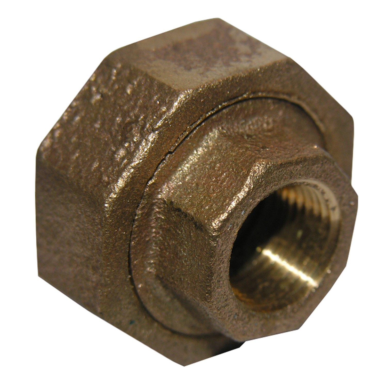 LASCO 17-9203 1//8-Inch Female Pipe Thread Brass Union