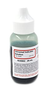 Universal Indicator Solution, 25mL - The Curated Chemical Collection