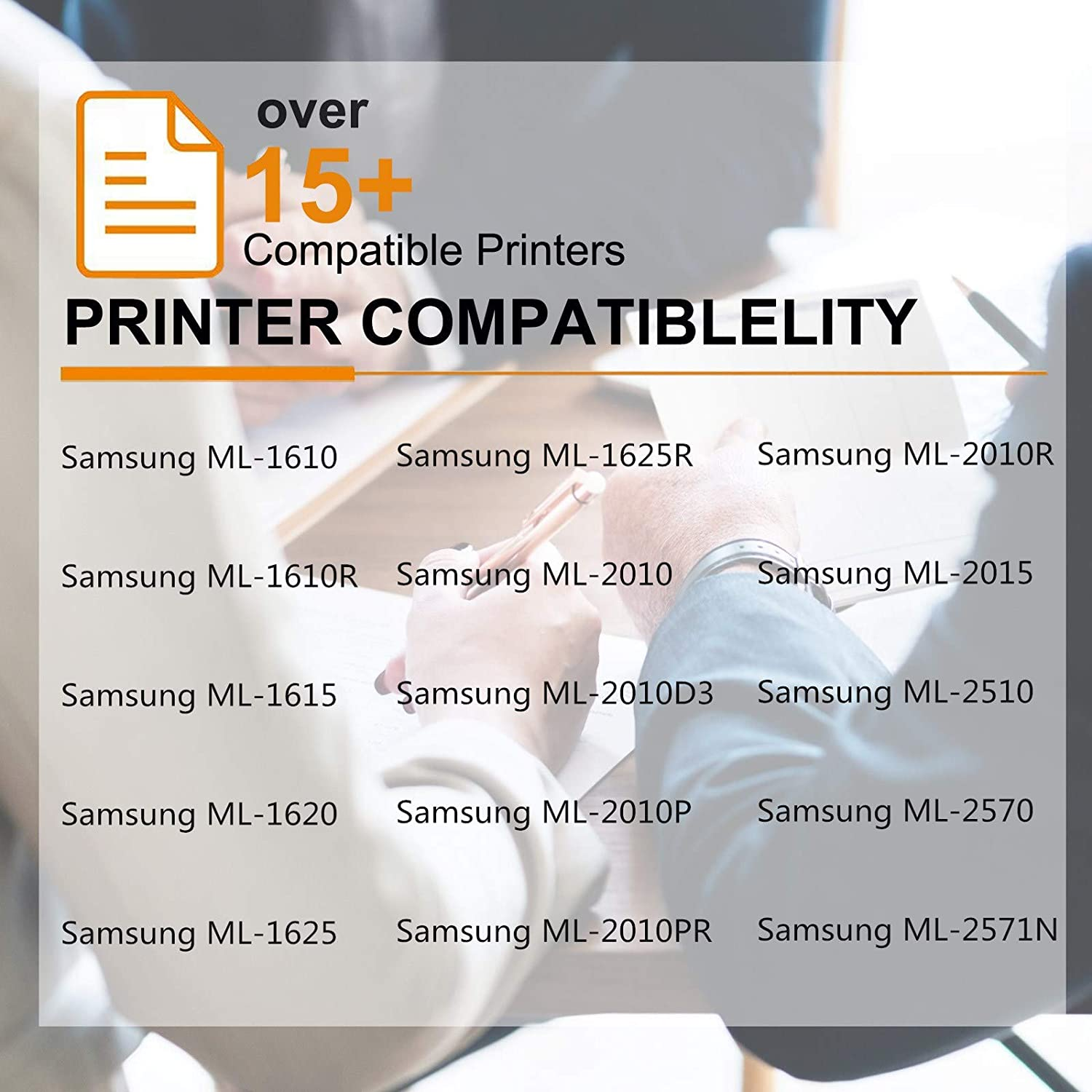 Black, 1-Pack GREENCYCLE 3000 Pages per Toner Cartridge Replacement Compatible for Samsung ML2010 ML2010D3 Used in ML-2010 ML-2010D3 ML-2010P ML-2010PR ML-2010R ML-2015 ML-2510 ML-2570 ML-2571N