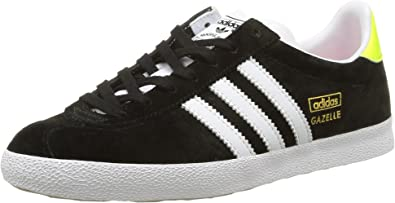 adidas Gazelle Og, Baskets Basses Femme, Noir (Core Black