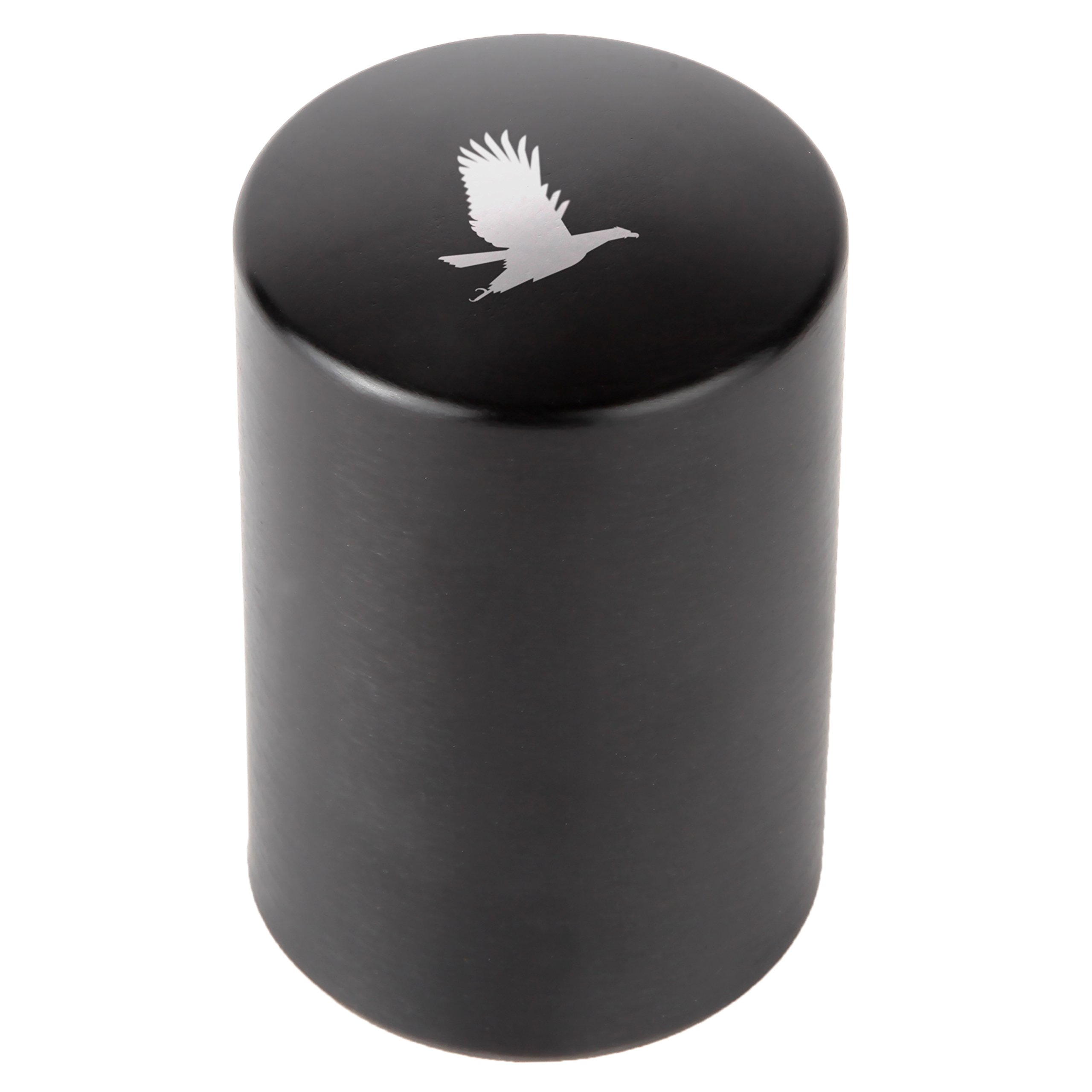 Bald Eagle Automatic Bottle Opener - Laser Etched Design - Bottle Opener With Catcher - Fast Bottle Opener For Parties, Events Or Everyday Use