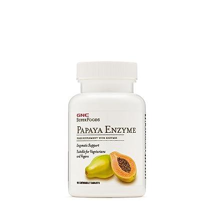 Gnc Enzima de Papaya: Amazon.es: Salud y cuidado personal