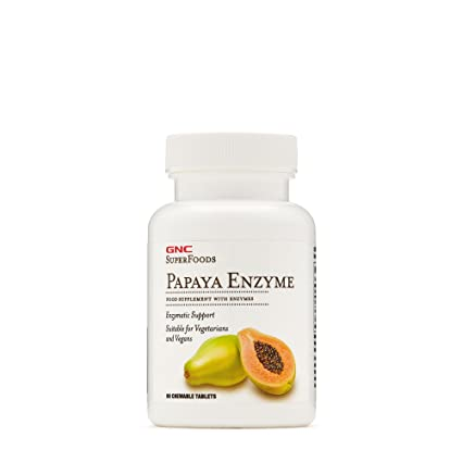 Enzimas digestivas de papaya gnc