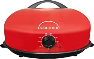 EaZy BrandZ EZO-3016R oberdome Plus Countertop Electric Roaster Oven with domelok Heat Technology, Red
