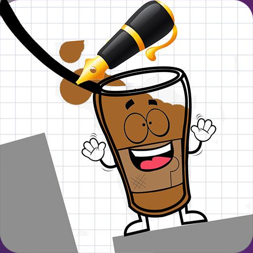 Happy Coffee Draw (Happy Glass)