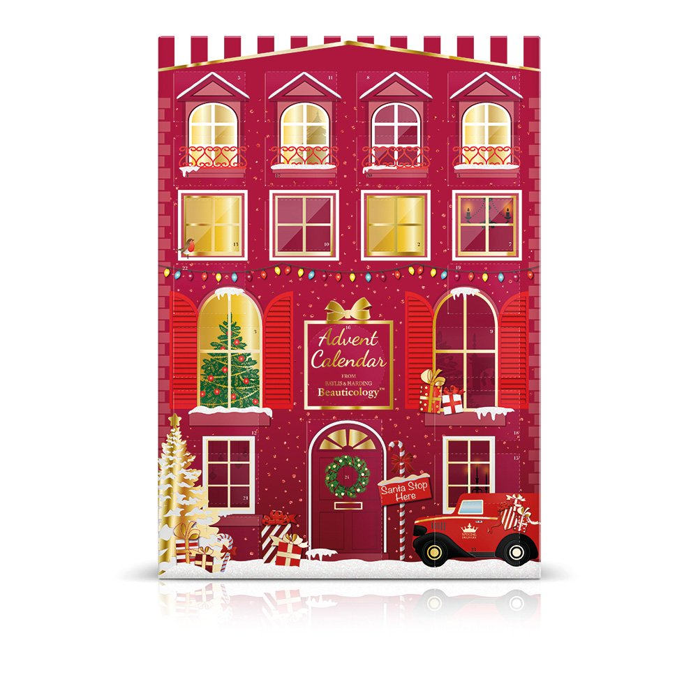 Baylis & Harding Beauticology Special Delivery Red Advent Calendar Gift Set BCRD18ADVENT