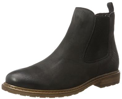 d3a75a37e344d7 Tamaris Damen 25056 Chelsea Boots braun  Amazon.de  Schuhe   Handtaschen