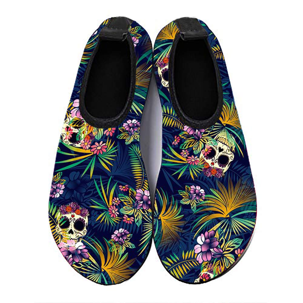 ORNICE Water Shoes Barefoot Quick-Dry Aqua Socks for Beach Swim Surf Yoga for Men Women