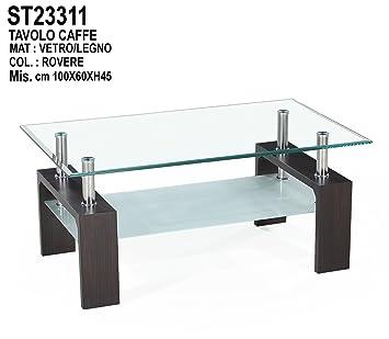 Amazonde Angebot Moderner Couchtisch Aus Glas Und Metall Farbe