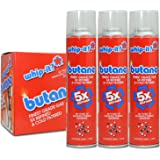 Whip-it! Refined Butane Fuel (5x Refined Butane Fuel, 3 Pack)