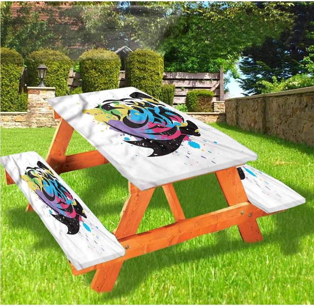 Mantel ajustable para mesa de picnic y banco inglés Bulldog ...