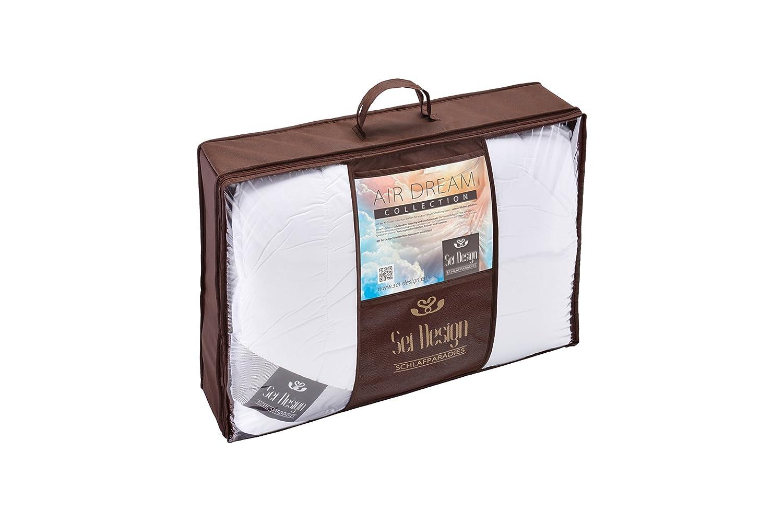 Sei Design® Air Dream Premium Bettdecke Sommer 155x220 mit mit mit weichstem Mako-Batist Bezug - 100% Baumwolle und hochwertiger Ateliersteppung.Für Allergiker empfohlen. 6aacc0