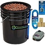 Deep Water Culture (DWC) Hydroponic Bucket Kit 5 Gallon, 10 inch