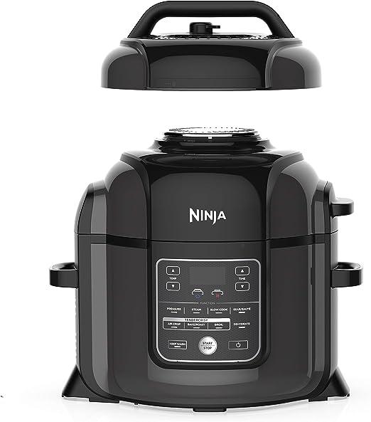 Amazon.com: Ninja OP401 Foodi XL TenderCrisp olla a presión ...