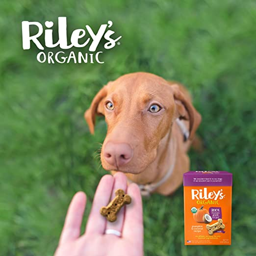 Amazon.com: Rileys Organic Dog Treats – galletas de perro ...