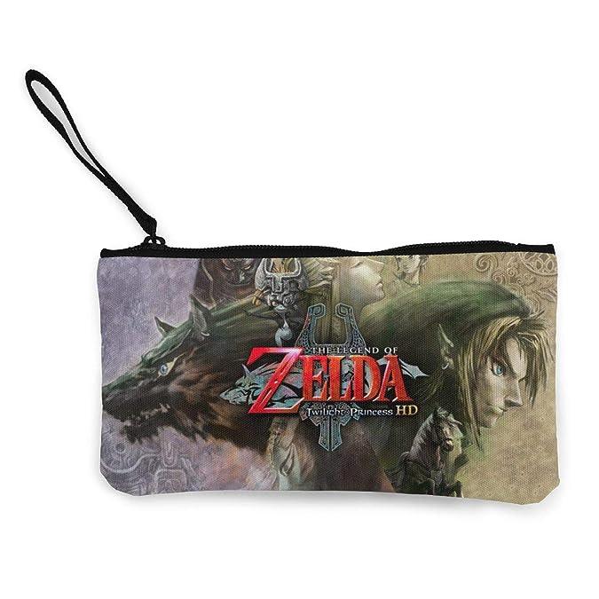 Amazon.com: Legend Ze-lda Zipper Coin Purse Canvas Wallet ...