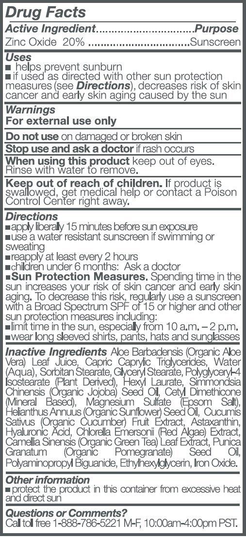 Suntegrity – 5 in 1 Natural Moisturizing Face Sunscreen – Tinted – LIGHT