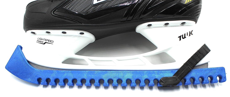 Schlittschuh Kufenschoner Weiß Schoner Verstellbar Größenverstellbar Eishockey
