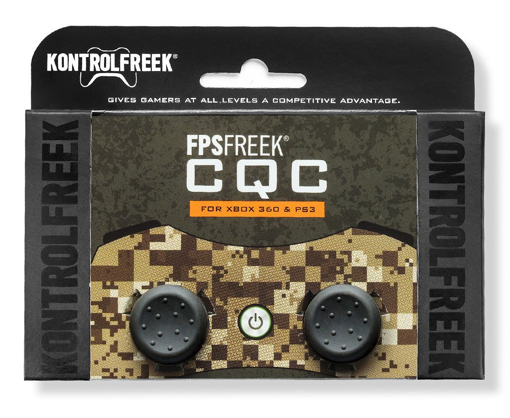 KontrolFreek FPS Freek CQC Thumb Grips for PlayStation 3 and Xbox 360 Controller