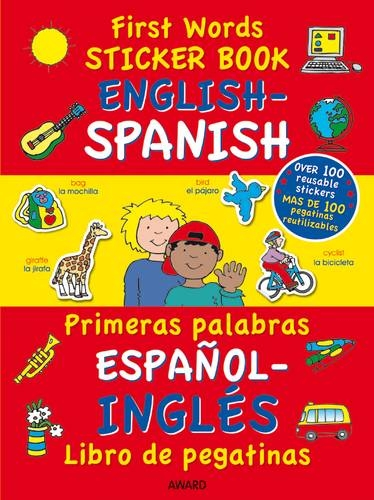 Engish French Francais Anglais (First Words Sticker Books)