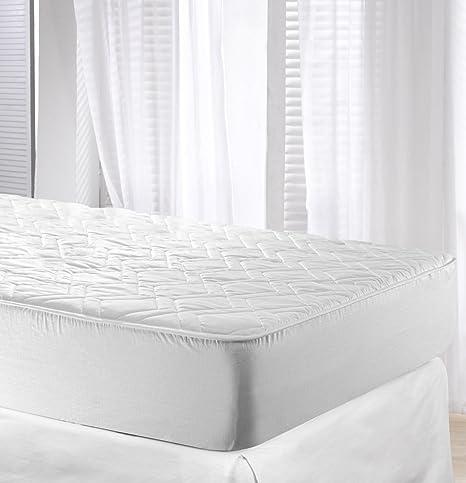 Velfont Protector de colchón Impermeable Acolchado Algodón, 90 x 200 cm: Amazon.es: Hogar