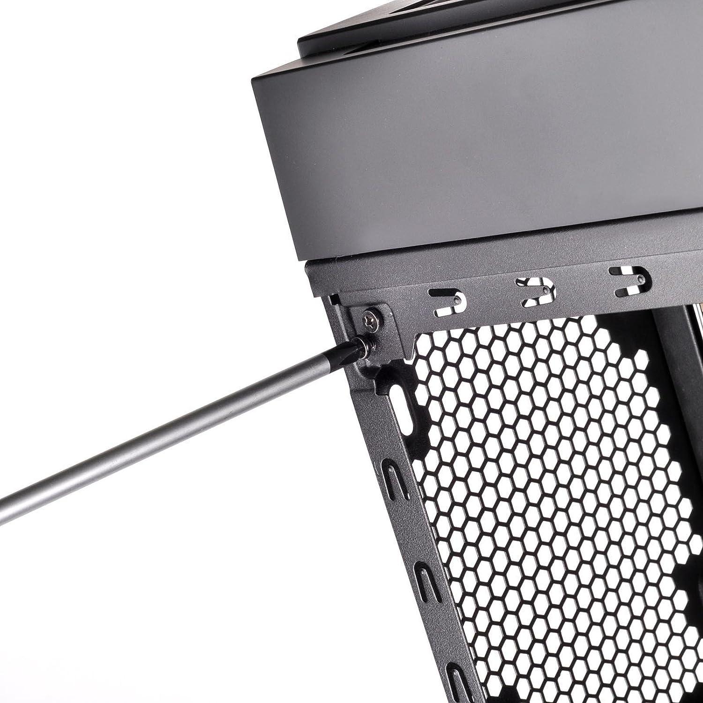 HDD; bridas SilverStone SST-CA02 ventilador Juego de tornillos de ordenador para placa base carcasa de ordenador dispositivo /óptico
