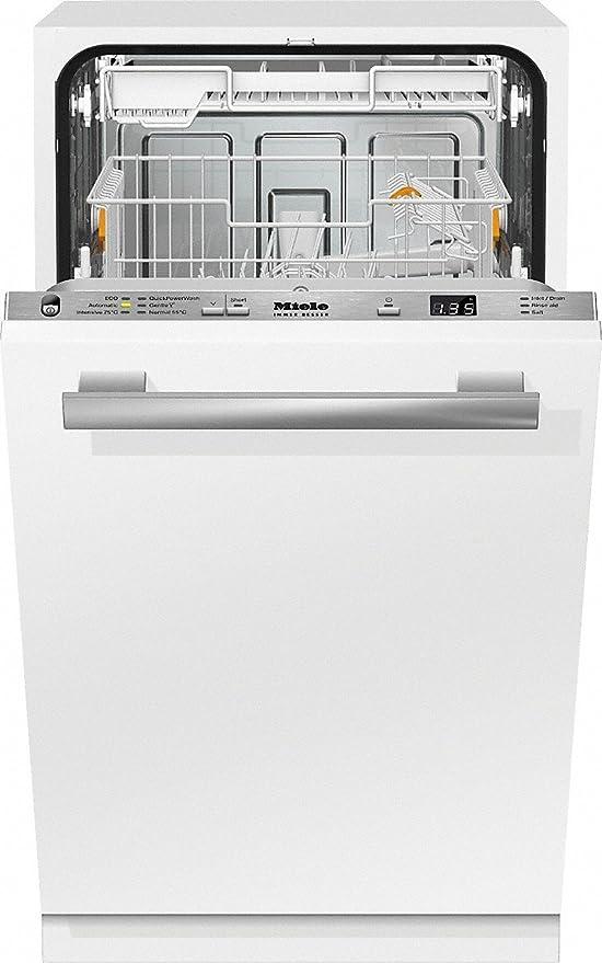 Miele G 4780 SCVi lavavajilla Totalmente integrado 9 cubiertos A+ ...