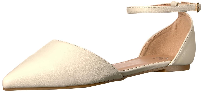 Brinley Co Women's Ria Ballet Flat B01HSAA4R8 7.5 B(M) US|Bone