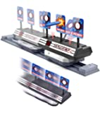 Gasince Running Shooting Target for Nerf Guns Compatible with Nerf N-Strike Elite, Mega & Rival, Electronic Scoring Auto…