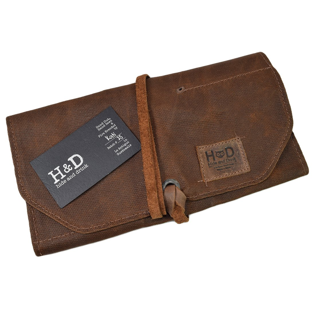 Amazon.com: Hide & Drink - Rollo de papel de lienzo encerado ...