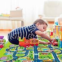 Pueri Alfombras Infantiles para Bebés Alfombras de Carreteras