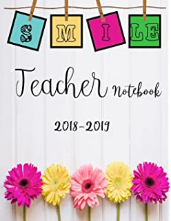 teacher planner 2018 2019 teacher planner lesson planner and