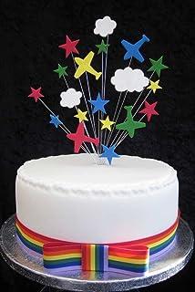 Marvel Avengers Iron Man Cake Decoration Set Amazoncouk