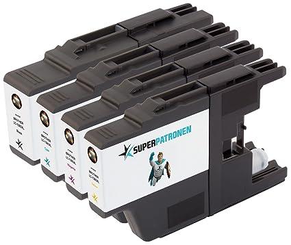 4 XL PREMIUM cartuchos de impresora original Brother LC-1280 X ...