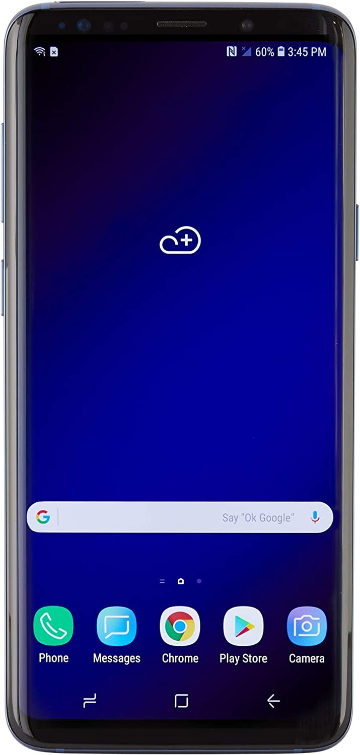 Samsung Galaxy S9 Dual SIM Smartphone - Coral Blue - GSM Only - International Version