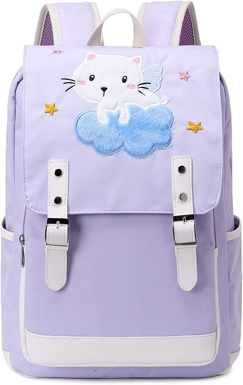Backpack for Girl Womens School Laptop Book Bag Travel Rucksack Floral Daypacks