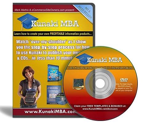 Amazon.com: Kunaki MBA - Start your Own Information Marketing Home ...
