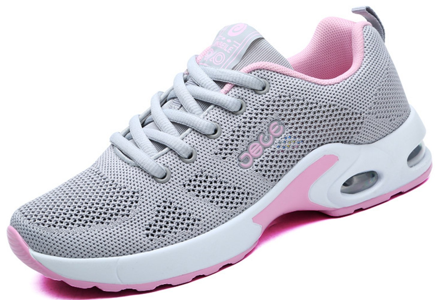 LFEU Zapatillas de Running Unisex Adulto 39 EU|gris rose