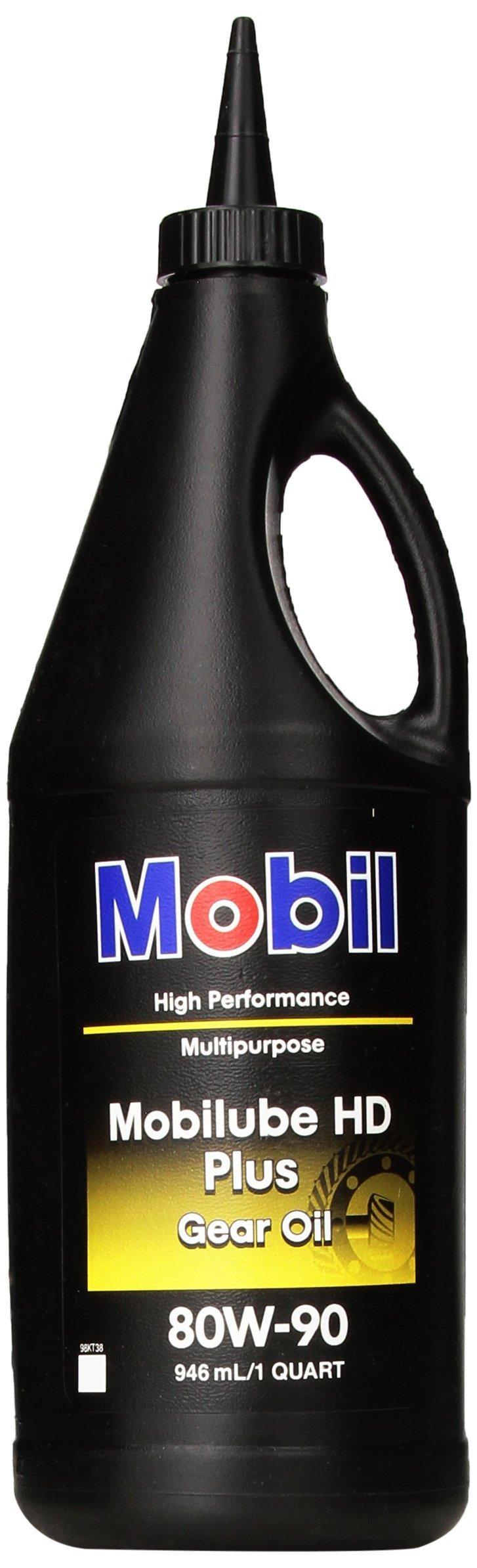 Mobilube HD Plus 80w90, Gear Oil, 1 qt