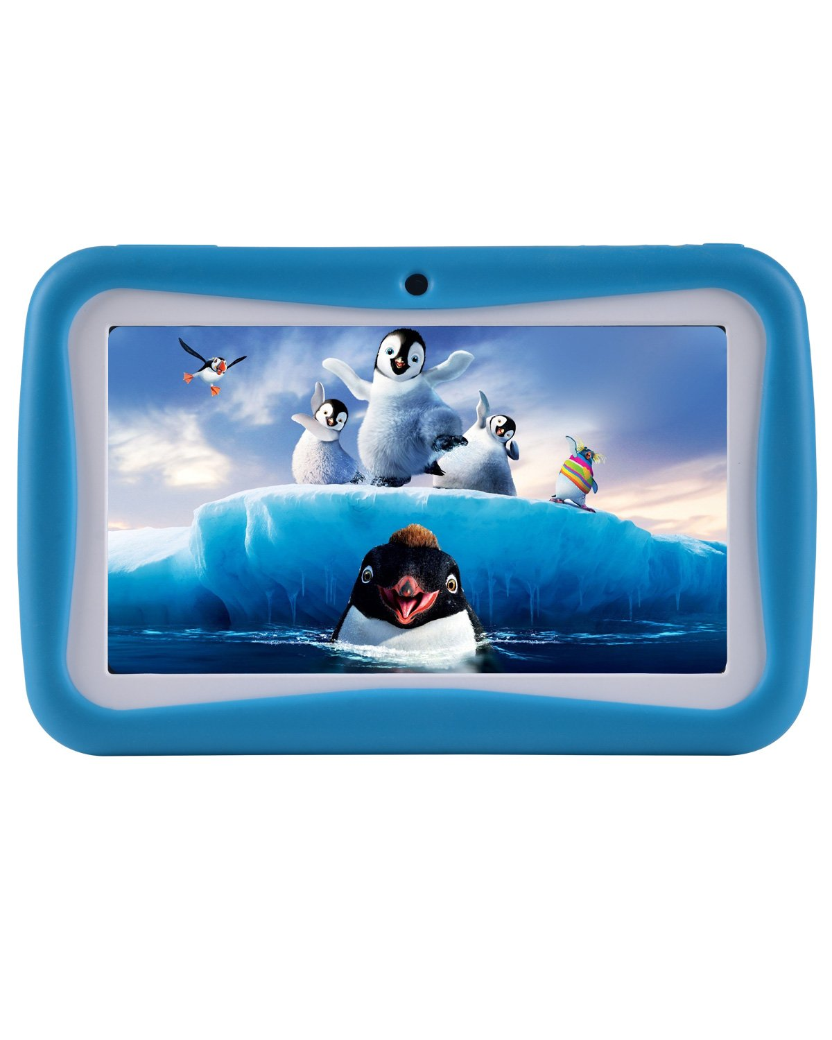 7 Inch Kids Tablet, Andriod Education Kids Tablet With Wifi and Camera, HD Display 1GB+8GB Quad Core, Kids Mode Pre-Installed-Blue