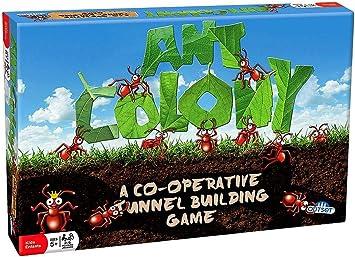 Outset Media Juego de niños cooperativos Colonia de Hormigas superar obstáculos y túneles para no Construir Juntos Ninguna Lectura Que no se Requiere (5 años y más): Amazon.es: Juguetes y juegos