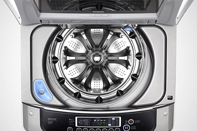 LG WT1201CV Independiente Carga superior 1100RPM Acero inoxidable ...