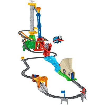 Fisher-Price Thomas & Friends TrackMaster, Thomas' Sky-High Bridge Jump: Toys & Games