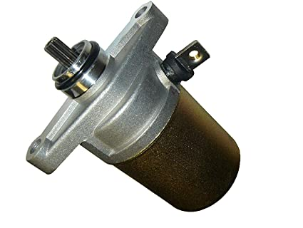 Electric Starter Motor for 49CC 50CC 60CC 72CC Scooters, Mopeds, ATVs, Go  Carts with 139QMB GY6 Engine