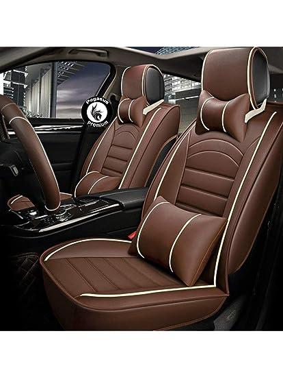 Strange Pegasuspremium Pu Leather Car Seat Cover For Tata Nano Black And Beige Creativecarmelina Interior Chair Design Creativecarmelinacom