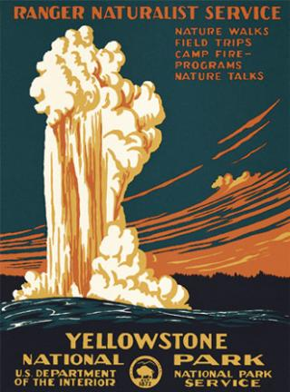 Yellowstone National Park - Geyser | Ranger Doug's Enterprises