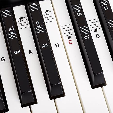 Piano + Keyboard Notas de piano + Gratis eBook | Premium para 49, 61, 76, ...