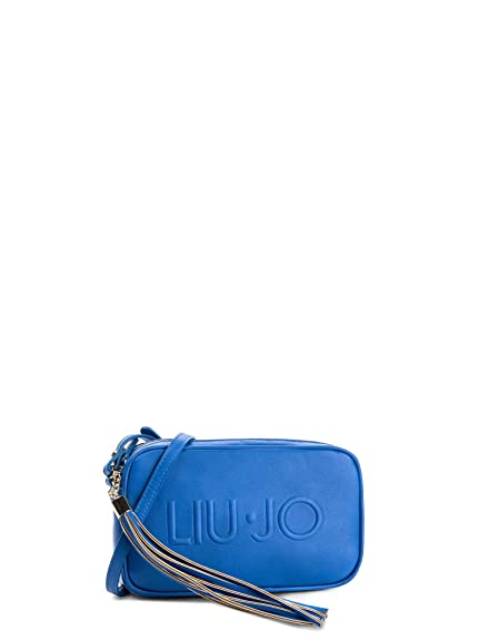 BORSA DONNA LIU JO CROSSBODY NAUTICAL BLU 118  Amazon.co.uk  Shoes ... e874966fa01